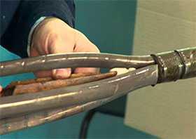 Диагностика и ремонт кабельных линий (установка муфт)
