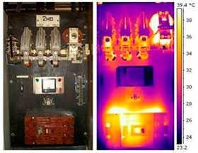 Тепловизионный контроль электрооборудования зданий и сооружений