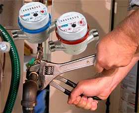 Обслуживание и ремонт счетчиков водоснабжения
