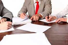 Выдача актов технического заключения для ИМНС
