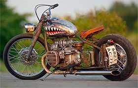 Расчет ущерба повреждений мотоциклов иностранного производства