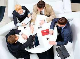 Организация деловых переговоров с представителями конкретных зарубежных фирм и компаний