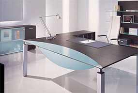 Изготовление мебели Hi-tech (Хай-тек) из нержавеющей стали для офиса