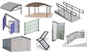Изготовление металлических изделий по индивидуальному проекту