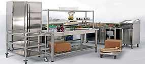 Изготовление торгового оборудования из нержавеющей стали
