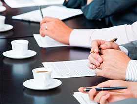 Организация деловой встречи с партнером