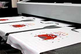 Печать на крое ( Сублимационная печать на ткани)