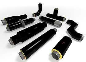 Производство труб и фасонных изделий в ППУ изоляции