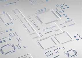 Монтаж SMD-компонентов с изготовлением трафаретов