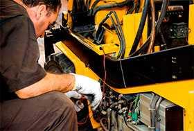 Сервисный ремонт вилочных погрузчиков STILL