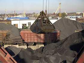 Погрузочно-разгрузочные работы на открытом подвижном составе с грузами массой до 50 тонн