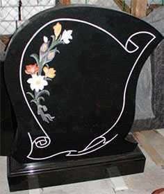 Изготовление надгробий по эскизам заказчика