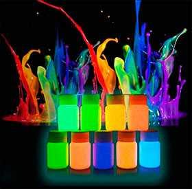 Печать флуоресцентными красками