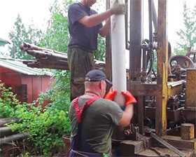 Текущий ремонт артезианских скважин