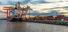Морские грузоперевозки через порты Риги