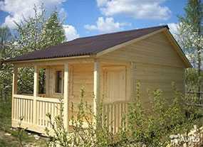 Строительство деревянных дач