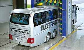 Механизированная мойка автобус особо большого класса (длина свыше 12,0 м)