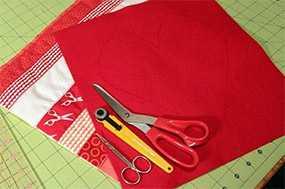 Пошив наперников для подушек из ткани