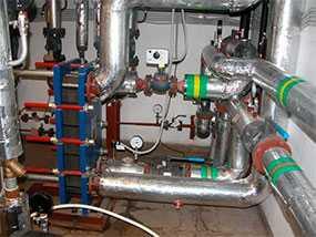 Обследование инженерных сетей теплоснабжения и вентиляции