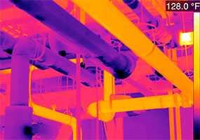 Тепловизионное обследование тепловых сетей