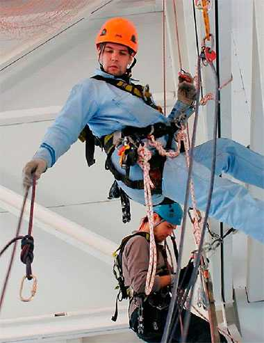 Переподготовка по специальности промышленный альпинист