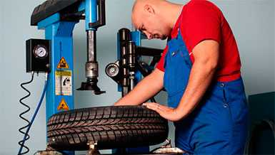 Переподготовка по специальности монтировщик шин и шинно-пневматических муфт