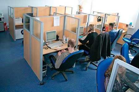 Изготовление мобильных офисных перегородок