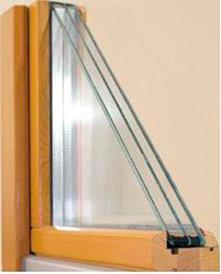 Изготовление деревянных окон из трехслойного клееного бруса собственного производства