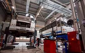 Ремонт и обслуживание автобусов