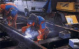Ремонт и сварка рельсов для текущего ремонта пути