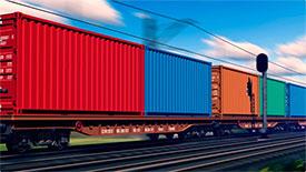 Железнодорожные грузоперевозки контейнерами
