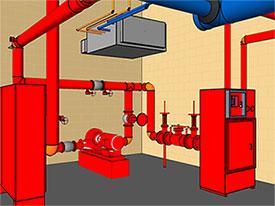 Строительство пожарного водопровода