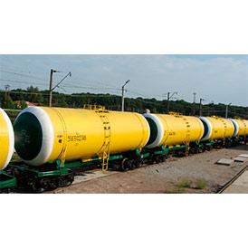 Железнодорожные грузоперевозки в цистернах