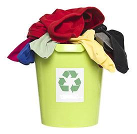 Закуп (прием) вторичные текстильные материалы (ВТМ) у населения и предприятий для дальнейшей переработки