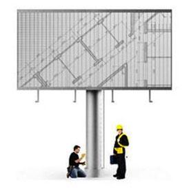 Монтаж и демонтаж рекламных модулей
