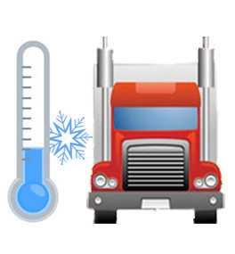 Автомобильная перевозка температурных и мульти-температурных грузов до 7 тонн