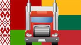 Автомобильные грузоперевозки Беларусь-Литва до 7 тонн