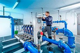 Технический надзор за работами в области водоснабжения и канализации