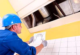 Технический надзор за работами по монтажу внутренних сетей