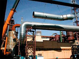 Монтаж трубопроводов высокого давления
