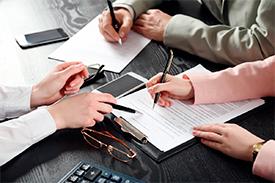 Документальное оформление сделок и представление их к регистрации на бирже