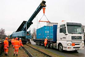 Железнодорожные погрузочно-разгрузочные работы