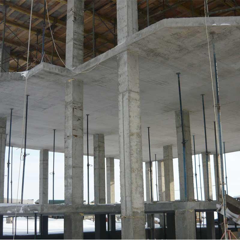Возведение монолитных бетонных и железобетонных конструкций