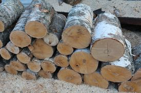 Раскряжевка дров